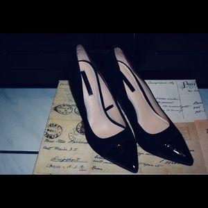 Zara Black Stiletto